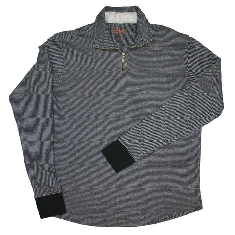 JESPER (Black)  -  French Terry 100% Cotton Pullover