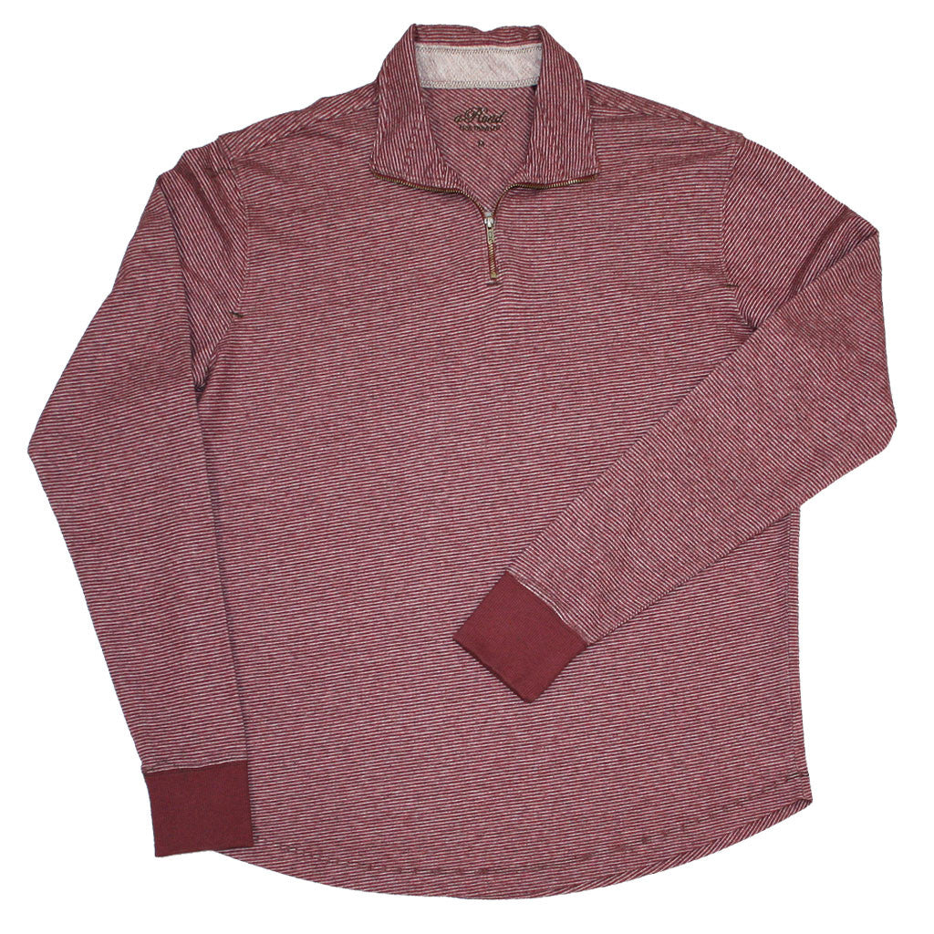 JESPER (Mahogany)  -  French Terry 100% Cotton Pullover