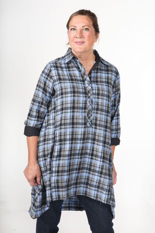 JASMINE - Women's Flannel Tunic Dress