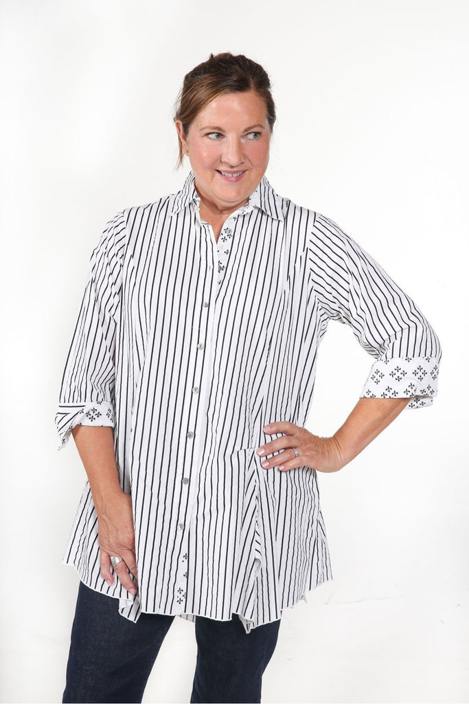 RIPLEY - Striped Women's Tunic