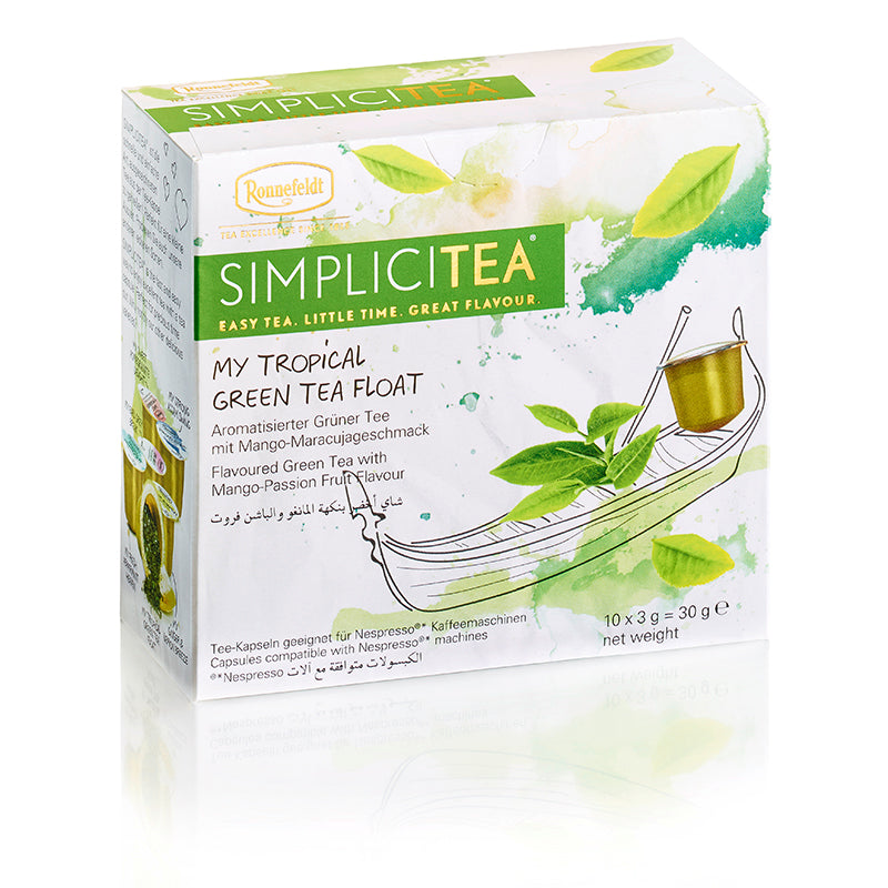SimpliciTEA - My Tropical Green Tea Float