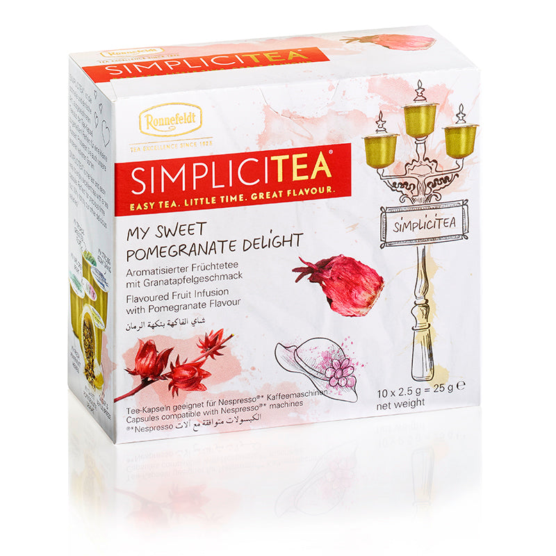 SimpliciTEA - My Sweet Pomegranate Delight