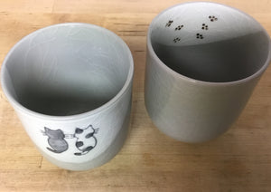 Black & Tama Cat Mug (Kotobuki)
