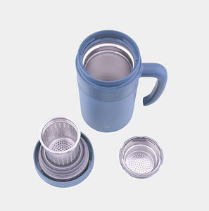 Stainless Tea Tumbler With Handle 16 oz