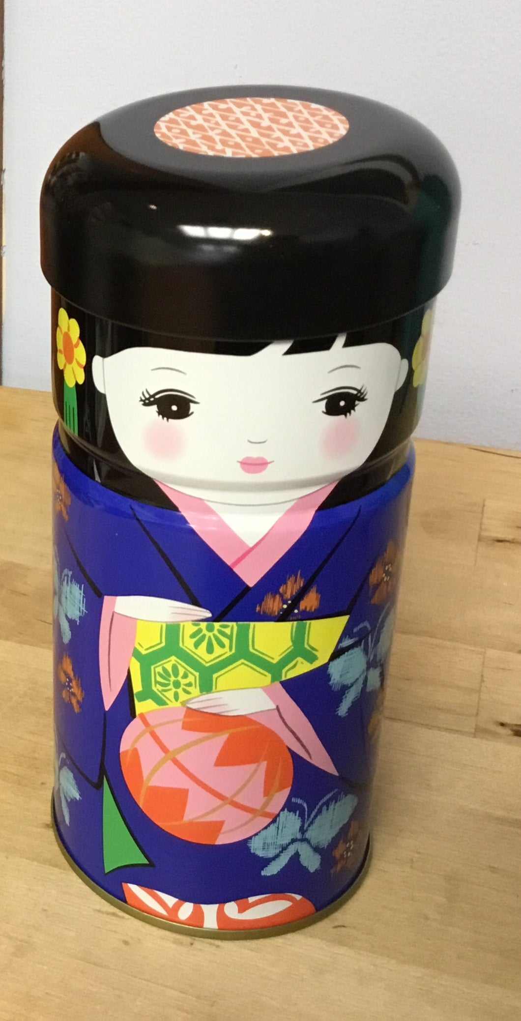 Geisha Girl Tin