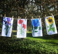 Dishtowel Flowers- Give a Fig