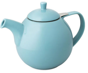 Teapot with Strainer For Life  24oz.  Curve