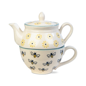 Honeybee 2 piece Tea Set for one