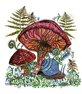 Tea Towel Mushroom - Give a Fig