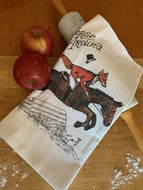 Tea Towel Horse Around - Give a Fig