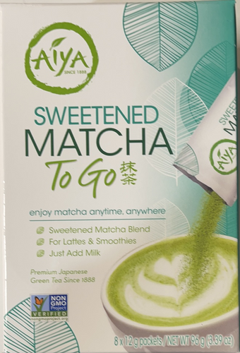Matcha to Go  Sweetened