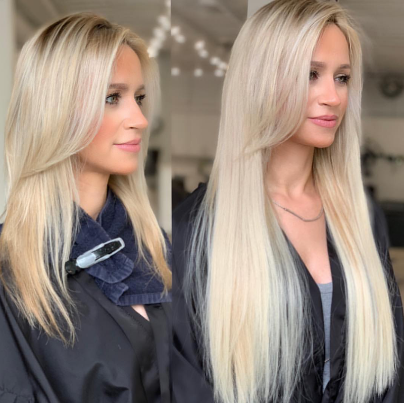 See The Difference: Tape Hair Extensions