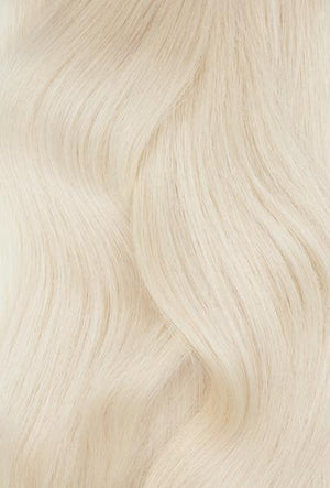 "Platinum Ash Blonde (#1002) Hand-Tied Weft 22"" (60g)- ON BACKORDER"