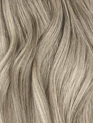 "Highlight - (Dark Brown #2 / White Blonde #60B) 22"" 100g - Weave Weft"