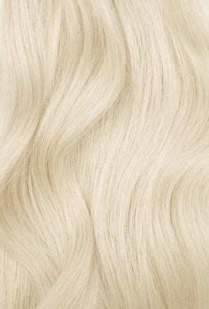 "Ash Blonde (#60C) Hand-Tied Weft - 22"" (Pre Order Ships Mid Jan)"