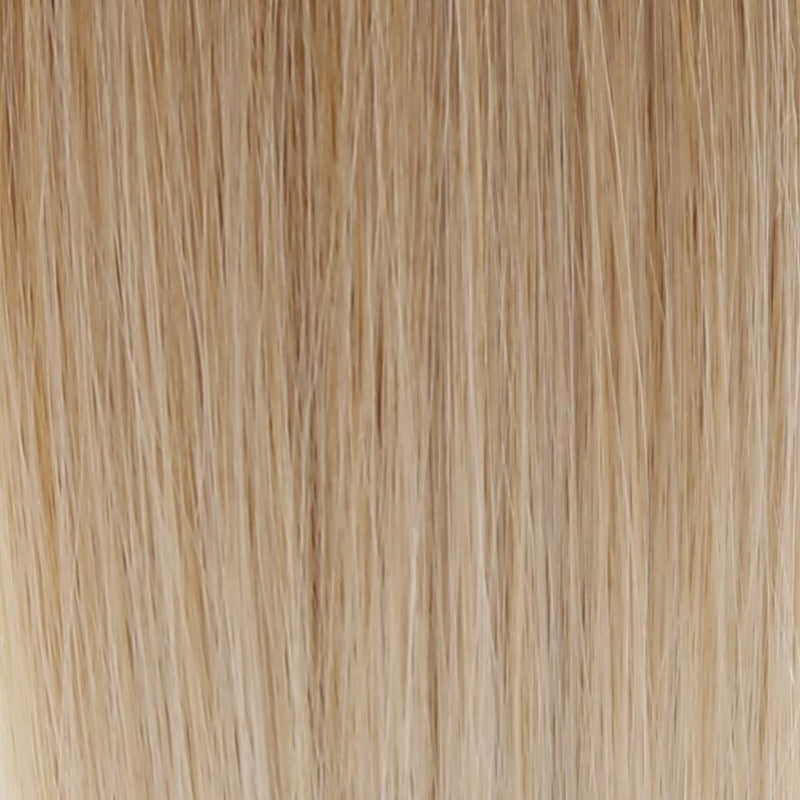 "Ombre - Ash Brown (#9) to White Blonde (#60B) 20"" Keratin Tip- ON BACKORDER (Ships Nov 2)"