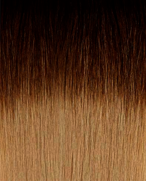 "Clip-in Ombre Espresso to Dolce Brown (2/7) 20"" 75g - FINAL SALE"