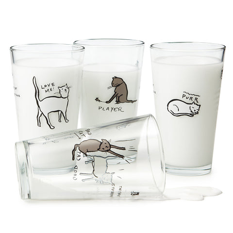 Cat Tao Pint Glasses for Mothers Day