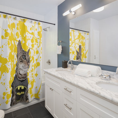 Custom Pet Shower Curtains