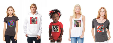 Custom Pet T-shirts, Hoodies & Onesies