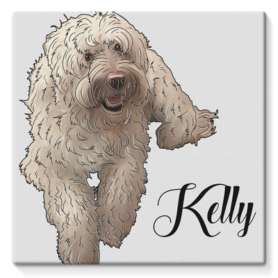 kelly Stretched Canvas