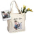 Custom Illustrated Baby & Pet Tote Bag by Tote Tails