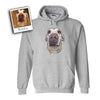 Custom Illustrated Pet Hoodie by Tote Tails