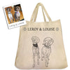 "The Ultimate ""Mix & Match"" Custom Pet Themed Tote Bag Gift Pack Bundle"