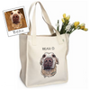 Custom Illustrated Pet Tote Bag by Tote Tails