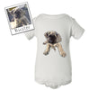 Custom Illustrated Pet Baby Onesie by Tote Tails