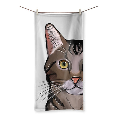 Homeware - Domestic Short Hair Cat Designs By Amitie Beach Towel