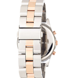 Marc Jacobs Henry Two Tone Chrono Bracelet Watch