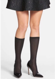 Kate Spade New York Metallic Knee High Socks