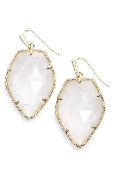 Kendra Scott Corley Faceted Stone Earrings