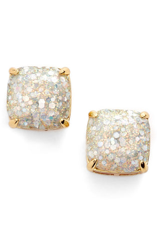 Kate Spade New York Small Square Stone Stud Earrings - Multiple Colors