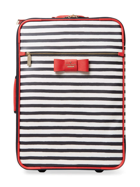 Kate Spade New York Julia Street Stripe International Carry-On Suitcase