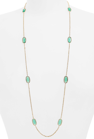 Kendra Scott Kelsie Station Necklace - Multiple Colors