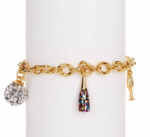 Kate Spade New York Holiday Charm Bracelet