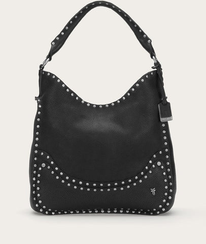 Frye Nikki Nail Head Hobo