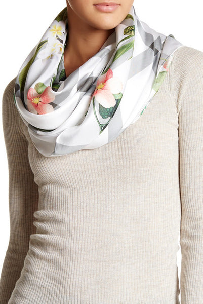 Ted Baker London Secret Trellis Square Silk Scarf