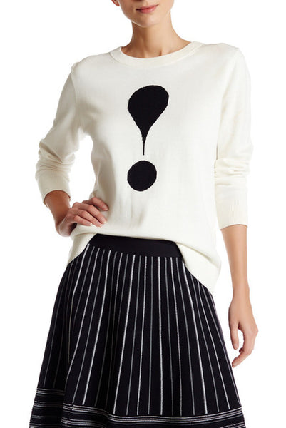 Kate Spade New York Exclamation Point Sweater