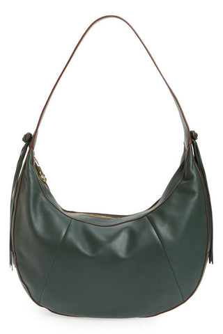 Elizabeth and James Large Zoe Leather Hobo Bag