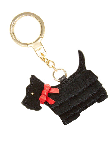 Kate Spade New York Lu Lu Dog Keychain