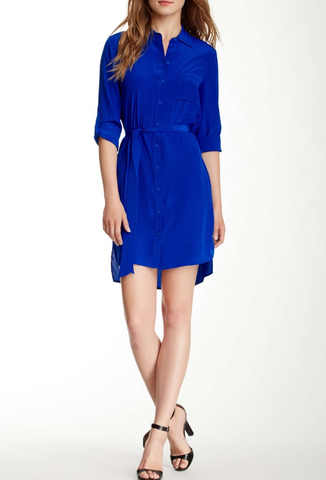 Diane von Furstenberg 'Prita' Silk Shirtdress - Multiple Colors