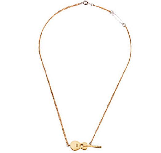 Marc by Marc Jacobs Guitar Necklace