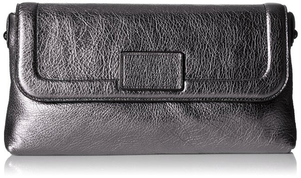 Marc by Marc Jacobs Blaze Gunmetal Leather Clutch
