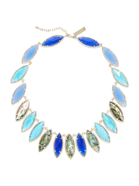 Kendra Scott Nalin Marquise Station Collar Necklace