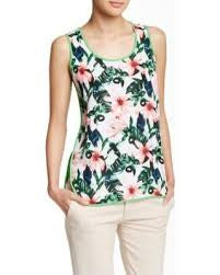Vince Camuto Jungle Lily Tank (Petite)