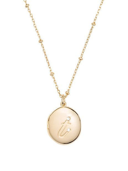Kate Spade New York 'Forever Mine' Initial Locket Necklace - Multiple Letters & Colors