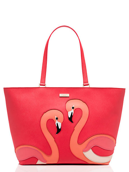 Kate Spade New York Take a Walk on the Wild Side Flamingo Jules